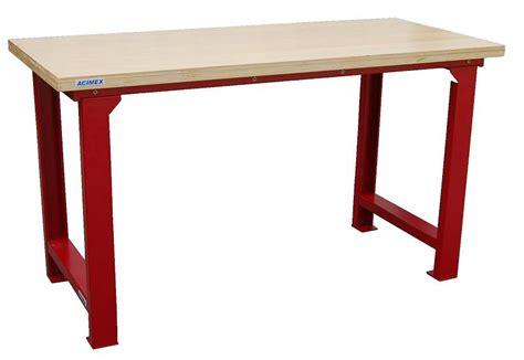 table etabli cheap etabli quip poste de travail avec