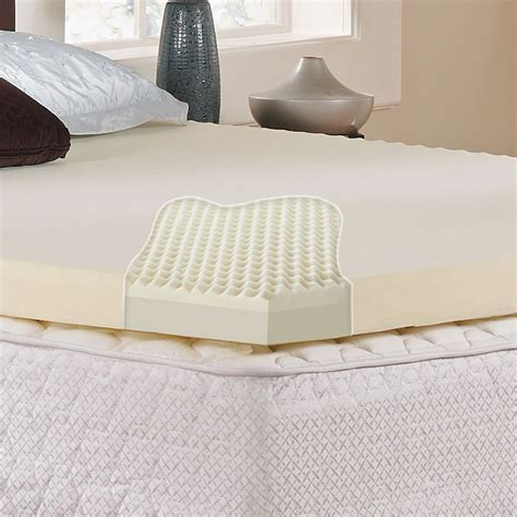 foam pad for bed memory foam mattress pad twin xl accugold visco elastic