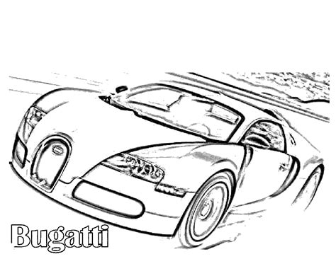 pics to color free printable bugatti coloring pages for