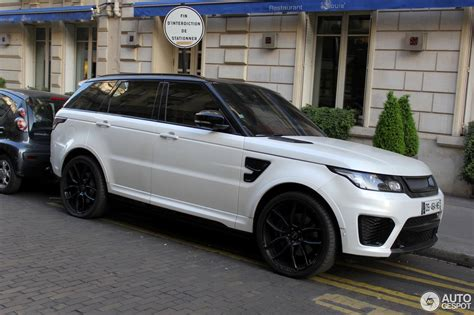 land rover svr white land rover range rover sport svr 30 march 2017 autogespot