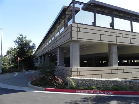 South Parking Garage by Sustainable Parking Garage Pomona College South Cus