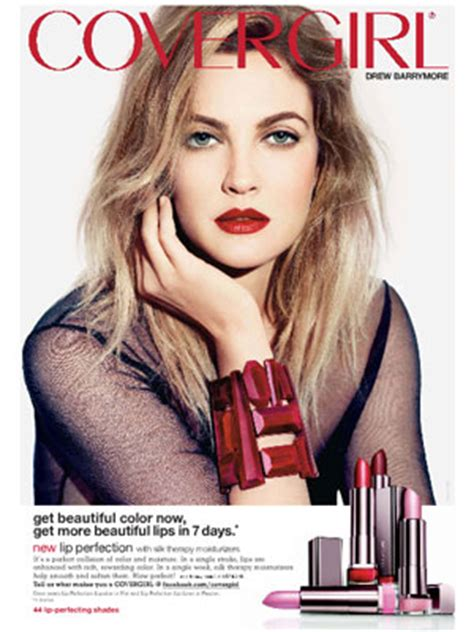 Drew Barrymore Signs Major Caign With Covergirl Cosmetics ways of seeing fys sexuality and pop culture