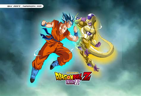 dragon ball z resurrection wallpaper goku vs freeza 8k ultra hd wallpaper and background image