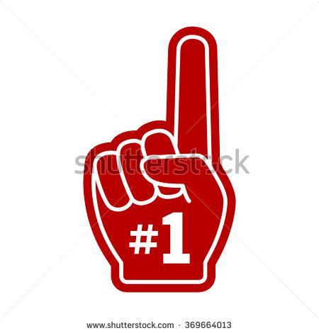number one finger clip art 51