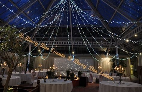 ceiling drapes with fairy lights fairy light canopies lighting our services busy bee