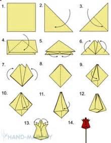 Simple Origami Vase Tulip 225 N De Origami Paso A Paso