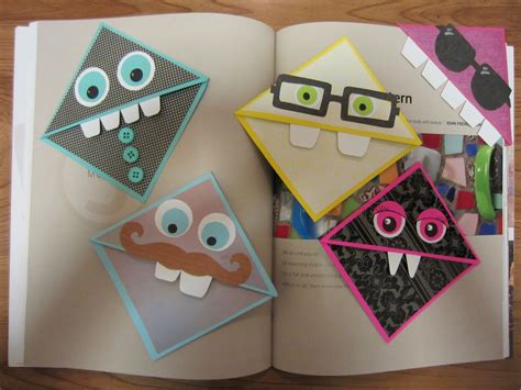 How To Make A Cool Origami Bookmark - crafty weekend with mrs peroddy pinteres