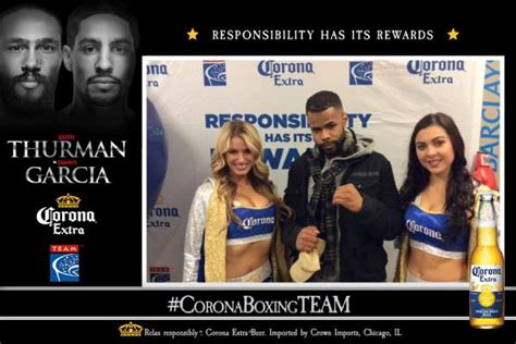 Corona Sweepstakes 2017 - responsible fans rewarded at thurman vs garcia fight team coalition