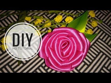 youtube membuat bros dari pita diy cara membuat bros bunga dari pita youtube