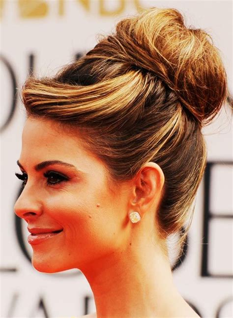 Hairstyles Buns For Medium Hair by 2016 New Trends Of Casual Mod Bun Hairstyles Ideas