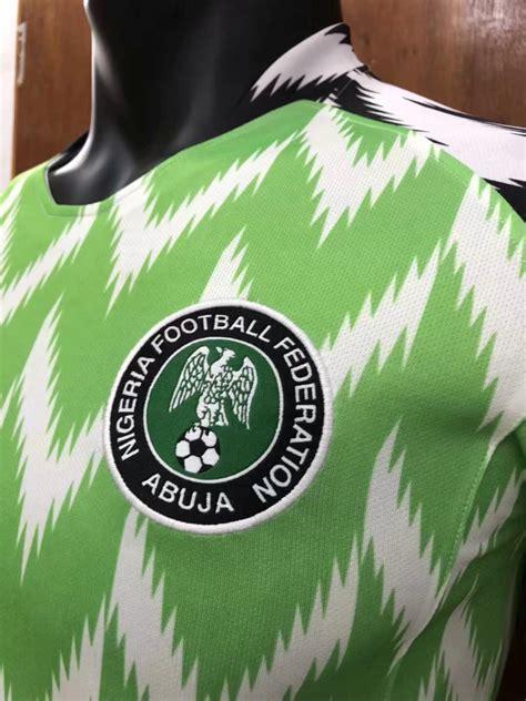 Nigeria World Cup 2018 Nigeria Soccer Jersey Fifa World Cup 2018 Home Football