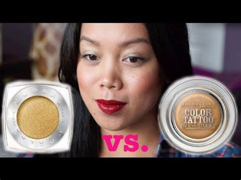 review maybelline tattoo eyeshadow indonesia maybelline color tattoo vs loreal infallible eyeshadow