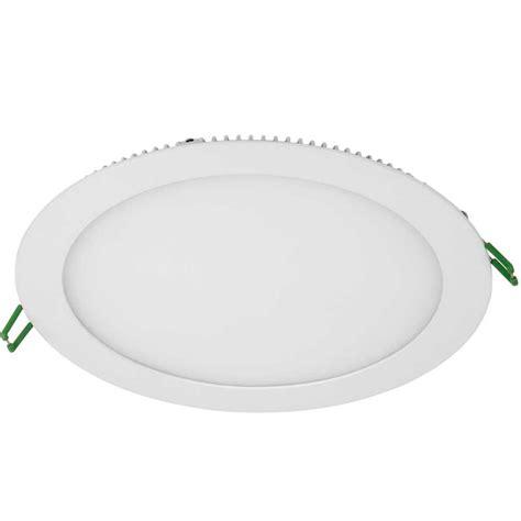 Lu Downlight 1 X 18 Watt 18 watt slimline recessed led downlight panel