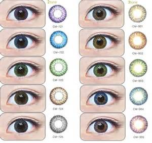 color lens korean circle contact lenses geo magic color 2 tone and