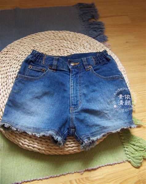 diy easy handbag   jeans