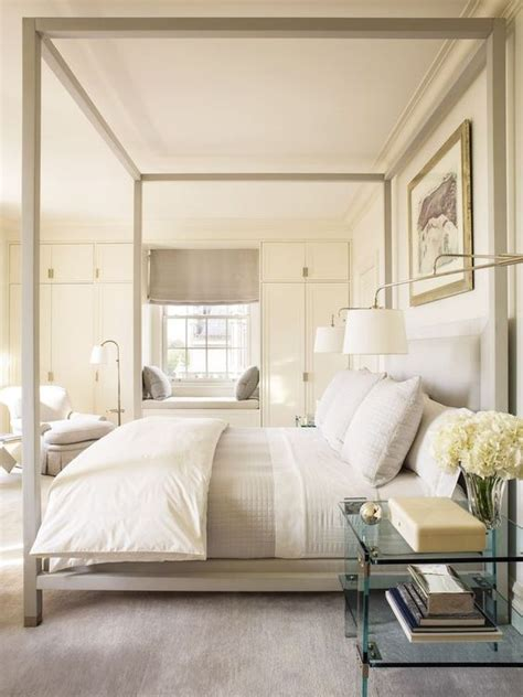 cream and white bedroom 33 canopy beds and canopy ideas for your bedroom digsdigs