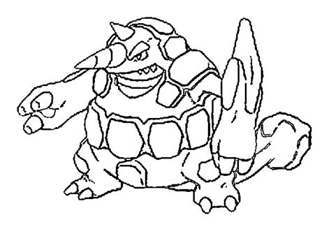 pokemon coloring pages rhyperior coloriages pokemon rhyperior dessins pokemon
