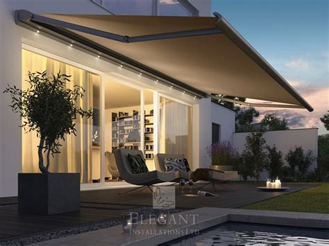 St Tropez Awning by Awnings With Lights Patio Awning Lights By Uk