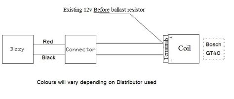 scorcher distributor wiring diagram mallory ignition