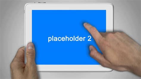 template after effects ipad animated ipad after effects template youtube