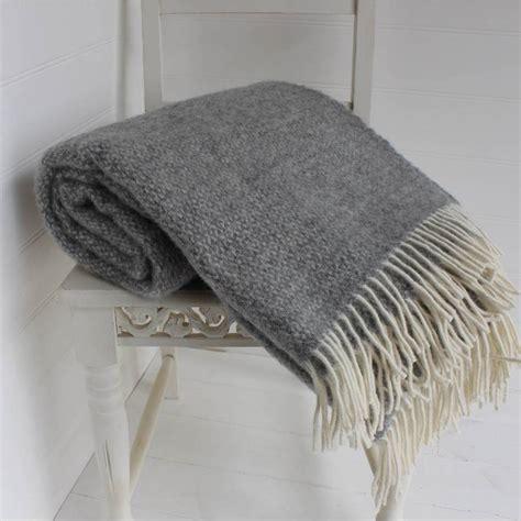 Dachshund Planter by Grey And Cream Wool Throw By Marquis Amp Dawe