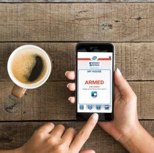 smartphone home burglar alarm security system dublin