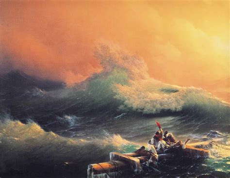pics for gt ivan aivazovsky the ninth wave file ivan constantinovich aivazovsky the ninth wave