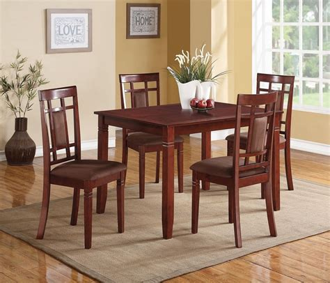 sonata 5 pieces cherry dining table set