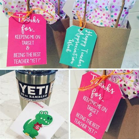 Yeti Gift Card - end of the year teacher gift yeti gift card and tags teacher gifts and tags