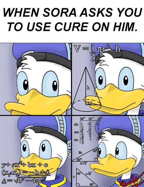 Meme Donald Duck - donald s incurable dilemma by lightdark1001 on deviantart