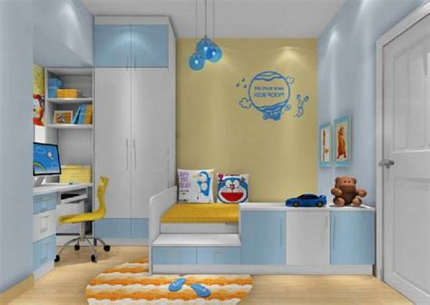 And Blue Childrens Bedroom by 37 Joyful Room Design Ideas With Blue Yellow Tones