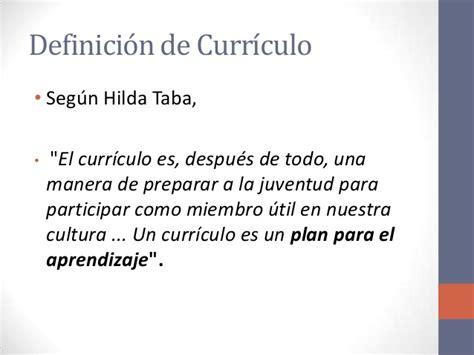 Criticas Al Modelo Curricular De Hilda Taba Hilda Taba