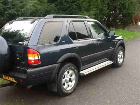 Vauxhall Frontera For Sale Opel Vauxhall Frontera 2 2dti 16v 2000my Limited 4x4 Car