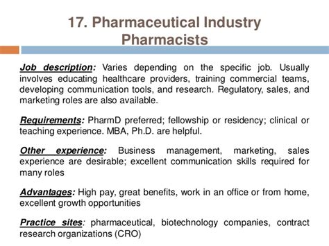 Advantages Of Pharmd Mba by Pharmacy Careers Pharmacist Practice Settings