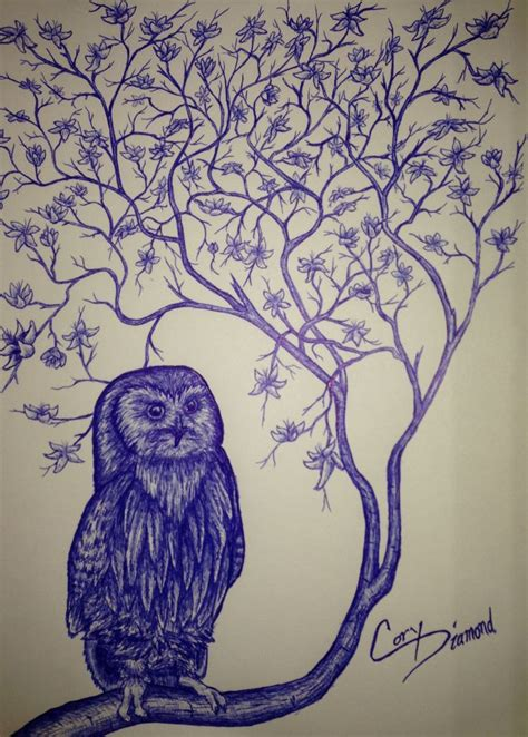 owl tree tattoo designs owl tree 4 design ink sketches
