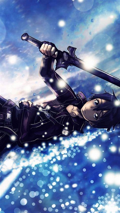 kirito sword art  iphone  wallpapers hd