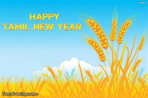 wish you happy tamil new year fancy greetings