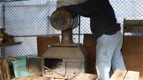 How To Make A Fireplace Heat Exchanger by Baffled Heat Exchanger For Wood Stove