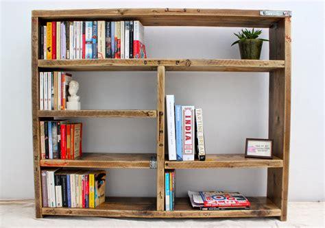 Handmade Bookcases - truman reclaimed wood bookcase handmade bespoke