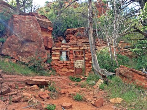 Cabins Near Sedona Az by American Expeditioners At Slide Rock State Park