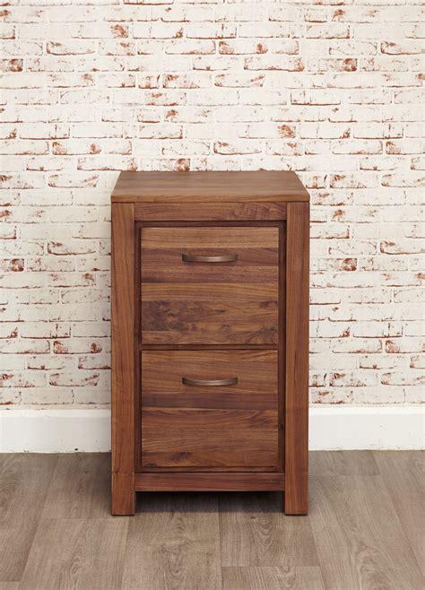 baumhaus mayan walnut  drawer filing cabinet