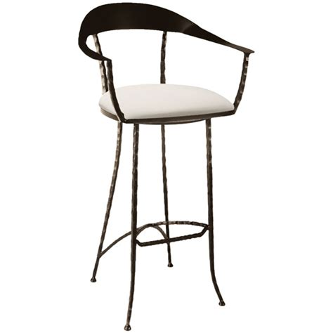 iron bar stools iron counter stools pictured here is the hudson wrap swivel counter stool with