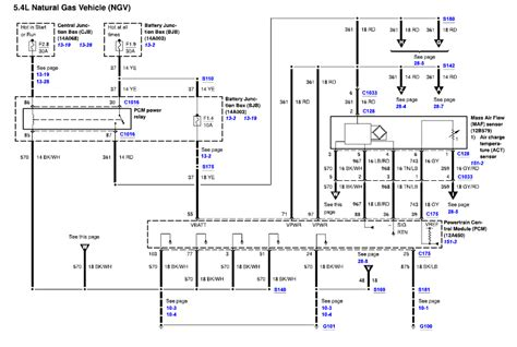 wiring diagram   ford cng powered shuttle bus
