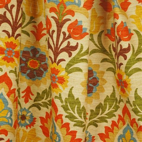 waverly curtain fabric fabric remnant 1 5 yards waverly santa maria ebay