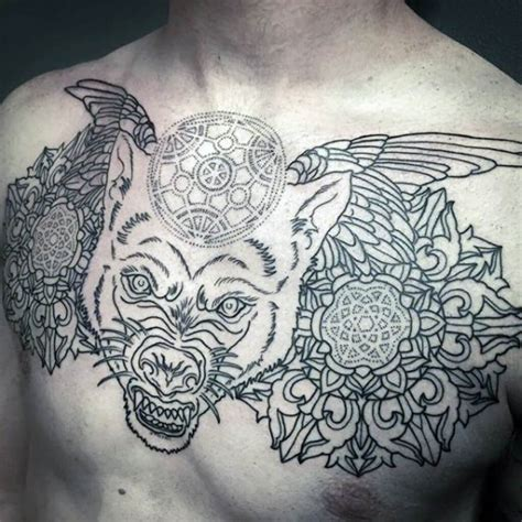 top 100 tattoos for men the 100 best chest tattoos for improb