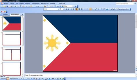 powerpoint themes philippines free flag of philippines powerpoint template