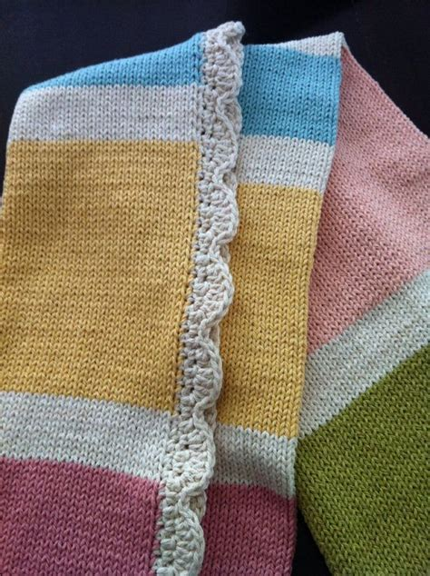baby blanket dimensions knitting baby blanket knitted cotton travel size by