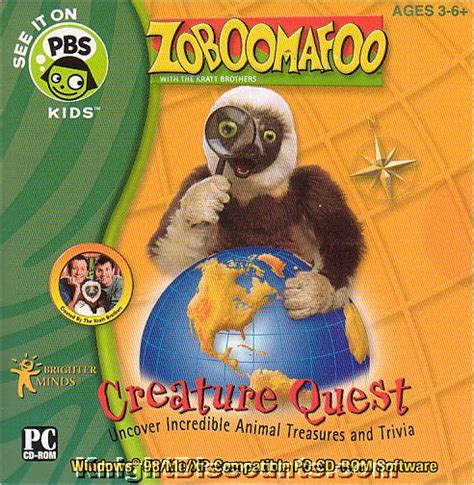 pbs pattern quest zoboomafoo 3 pack