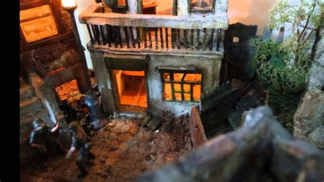 carentan ww military diorama  scale youtube