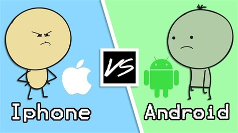 iphone vs android android vs iphone